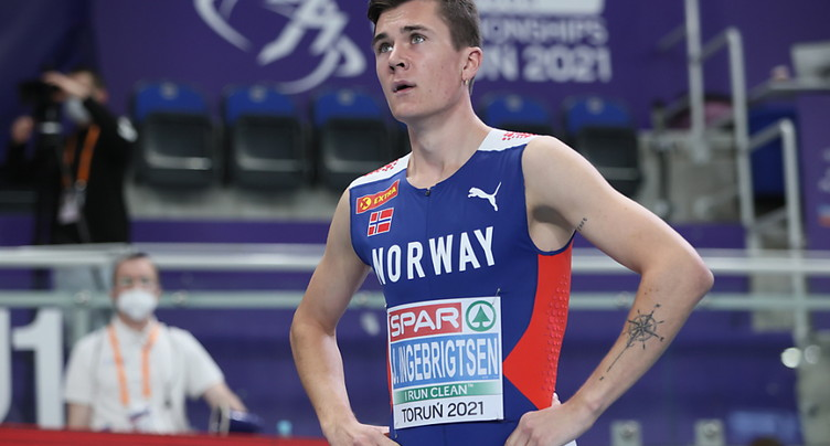 Jakob Ingebrigtsen finalement sacré sur 1500 m