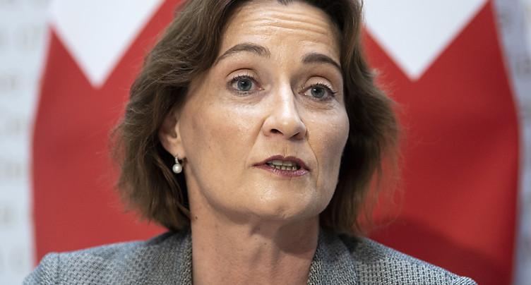 Pascale Baeriswyl voit un optimisme nouveau entre les puissances