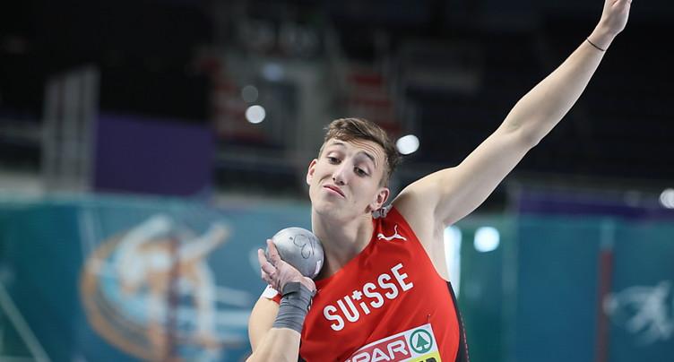 Ehammer en tête de l'heptathlon après trois épreuves