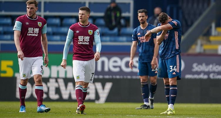 Arsenal et Xhaka se sabordent face à Burnley