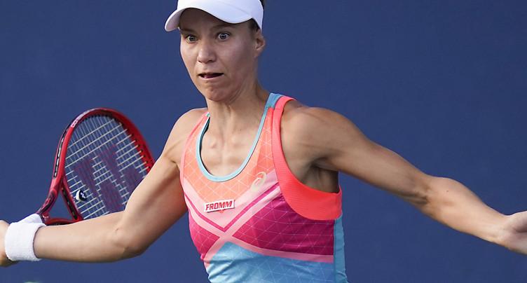 Viktorija Golubic en finale