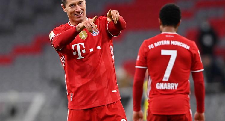 Le Bayern terrasse Dortmund après avoir été mené 2-0