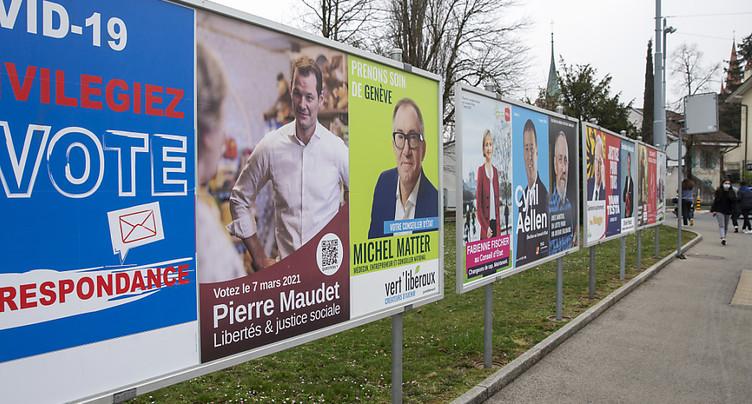 Genève: huit candidats pour un siège au Conseil d'Etat