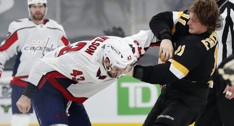 Sept matches de suspension contre Tom Wilson
