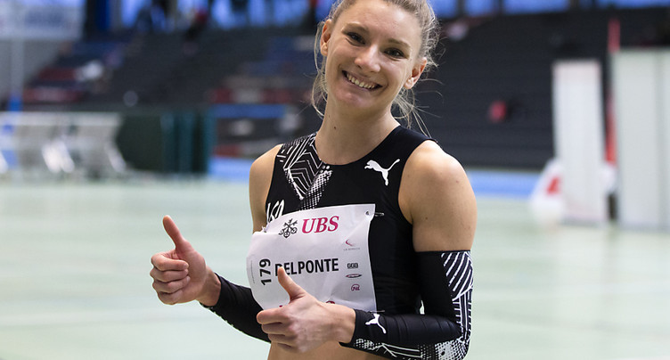 Del Ponte 4e des séries du 60 m