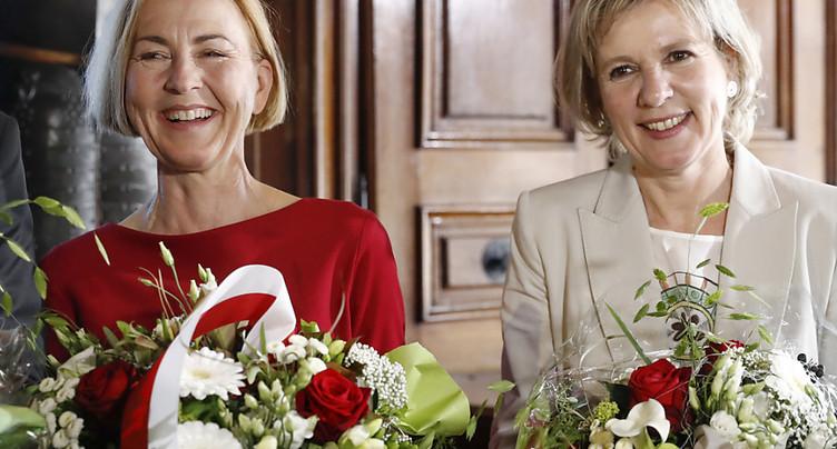 Ministres sortants réélus à Soleure: majorité féminine en vue