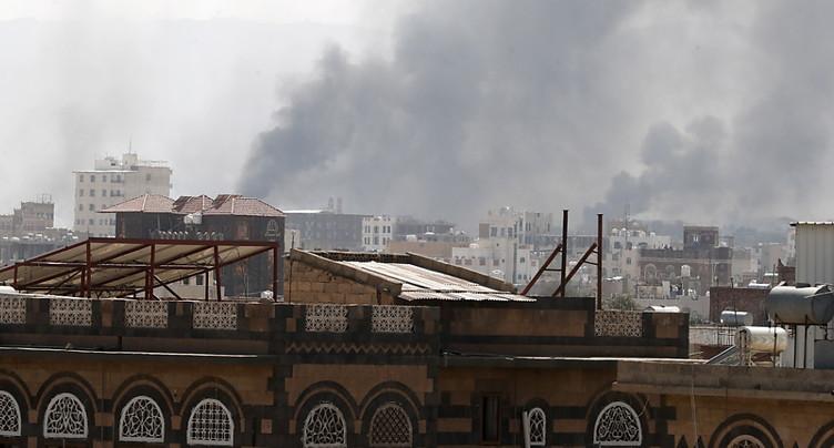 Yémen: frappes de la coalition dirigée par Ryad sur la capitale sous contrôle rebelle