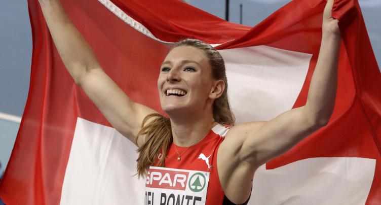 Ajla Del Ponte championne d'Europe du 60 m