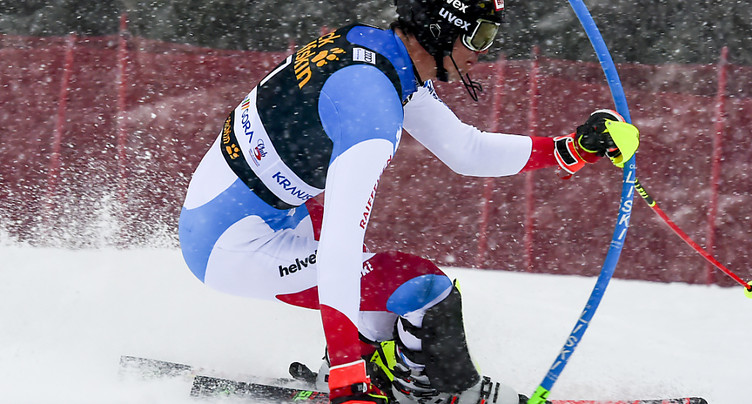 Slalom de Kranjska Gora: Noël en tête, Zenhäusern 3e