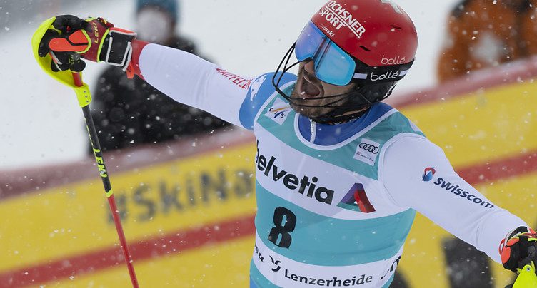 Slalom de Lenzerheide: Feller l'emporte, Meillard 5e