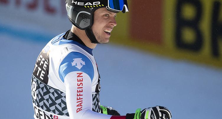 Ralph Weber sacré en descente aux Championnats de Suisse