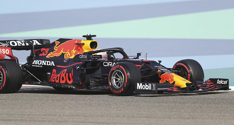 GP de Bahreïn: Max Verstappen domine les premiers essais libres