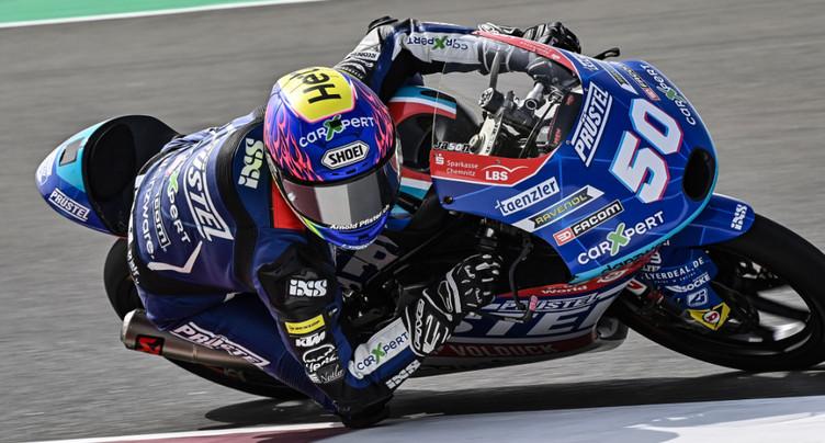 GP du Qatar: Jason Dupasquier brille lors des essais libres
