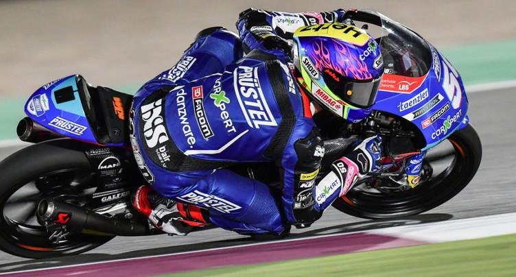 GP du Qatar Moto3: Jason Dupasquier 10e