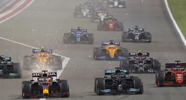 F1: Hamilton s'impose de peu devant Verstappen