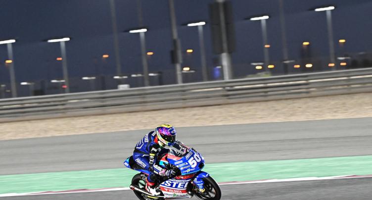 Moto3: Jason Dupasquier 11e des qualifications à Losail