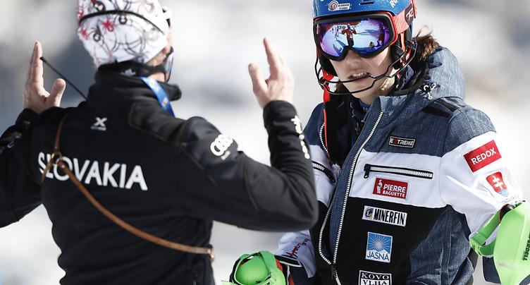 Petra Vlhova se sépare de son entraîneur Livio Magoni