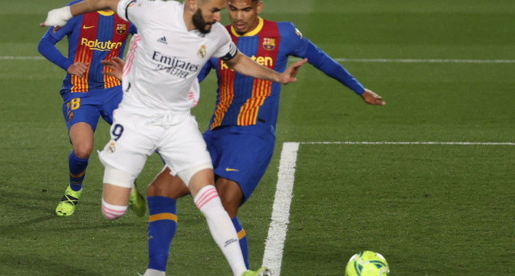 Le Real Madrid s'adjuge le Clasico contre Barcelone