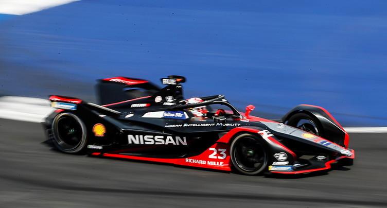 Formule E à Rome: pas de podium pour les Suisses