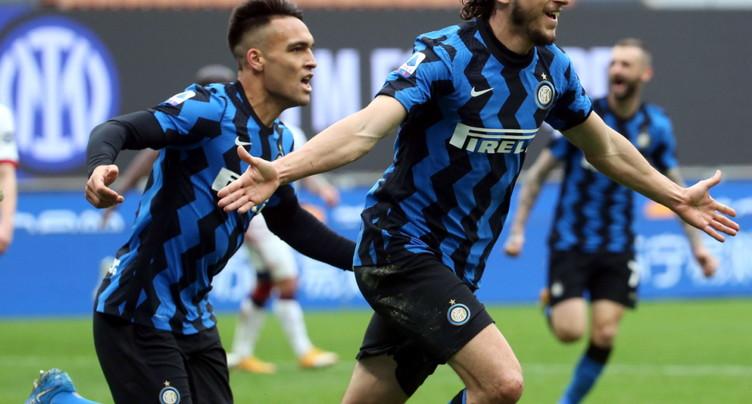 L'Inter garde ses distances en tête de la Serie A