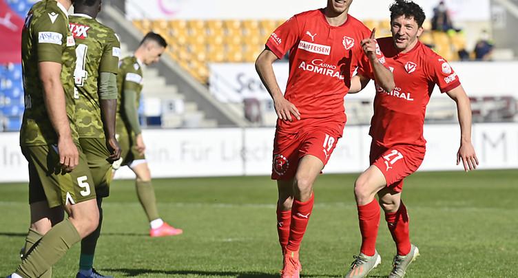 Super League: Vaduz gagne le match de la peur