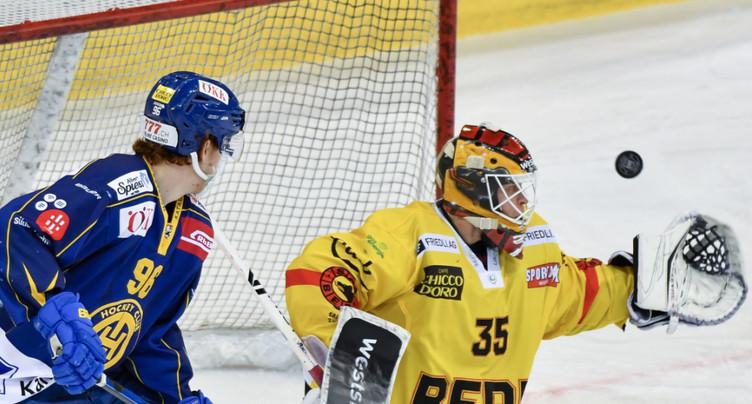 Berne affrontera Zoug en quarts de finale des play-off