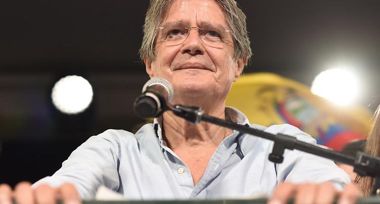 Le candidat de droite Guillermo Lasso remporte la présidentielle
