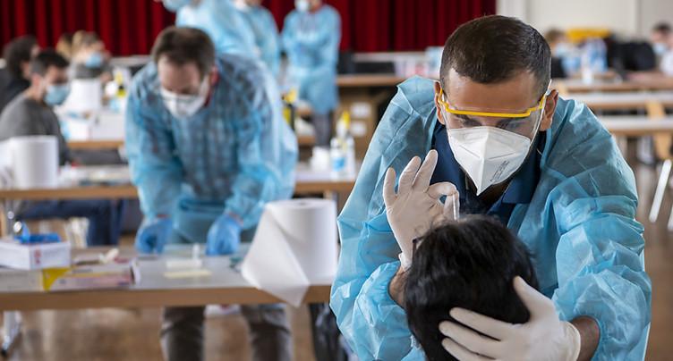 La Suisse compte 5583 nouveaux cas de coronavirus en 72 heures