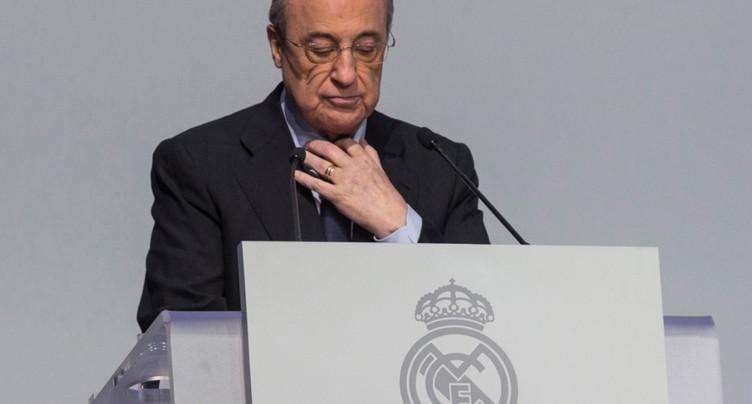 Florentino Perez, seul candidat, réélu président pour un 6e mandat