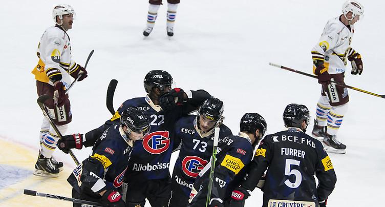 Fribourg impeccable contre Genève