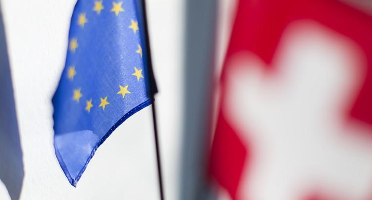 Accord-cadre: manque de volonté du Conseil fédéral, selon Bruxelles