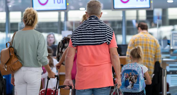 Le voyagiste TUI prévoit d'assurer 75% de son programme habituel