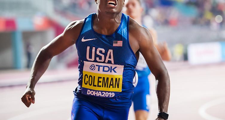Suspension réduite pour Coleman, pas assez pour les JO
