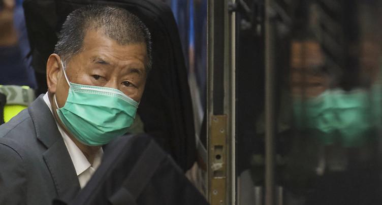 Manifestations à Hong Kong: un an de prison pour Jimmy Lai