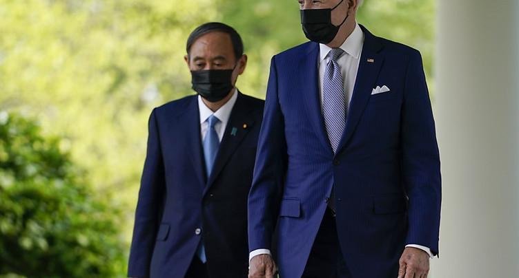 Les Etats-Unis et le Japon « ensemble » face aux « défis » chinois