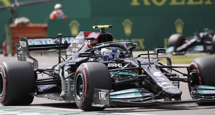 Hamilton en pole à Imola
