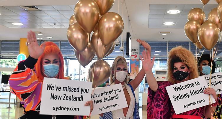 Ouverture de la « bulle » entre l'Australie et la Nouvelle-Zélande
