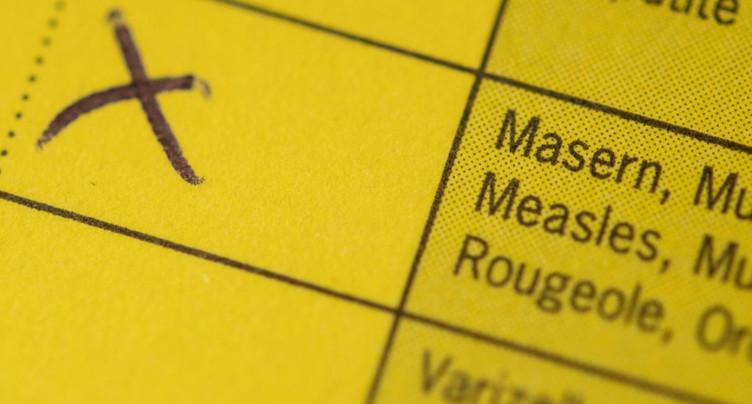 Baisse des vaccinations de base en 2020