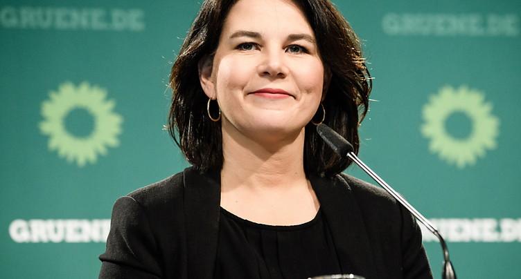 Annalena Baerbock désignée candidate des Verts pour la chancellerie