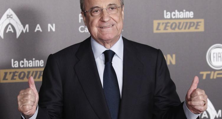 Super League: Florentino Perez présente ses arguments