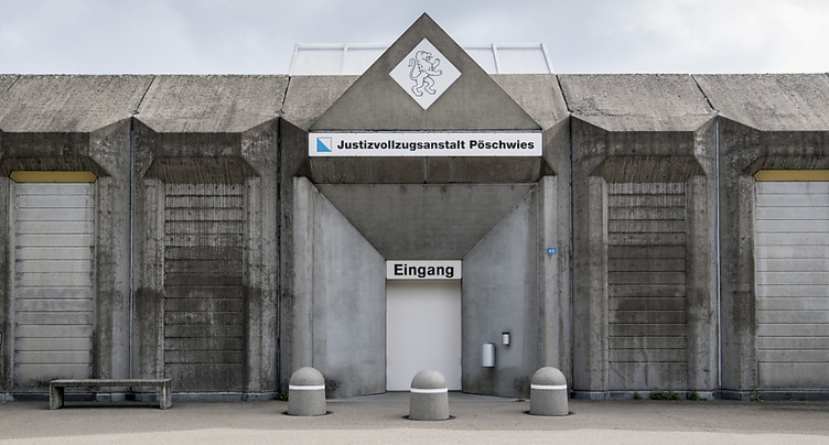 Détention provisoire: « Carlos » reste au pénitencier de Pöschwies