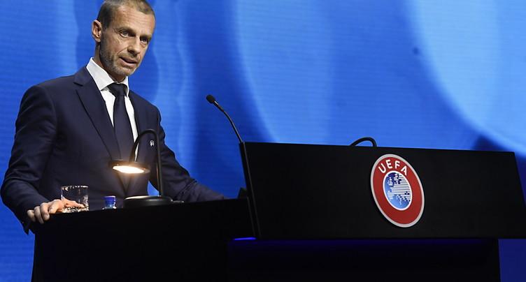 Le président de l'UEFA veut « rebâtir l'unité » du foot européen