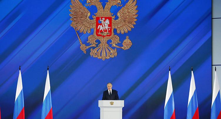 Poutine promet de lutter contre le changement climatique