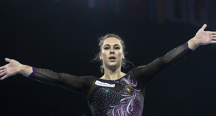 Championnats d'Europe: Giulia Steingruber trois fois en finale
