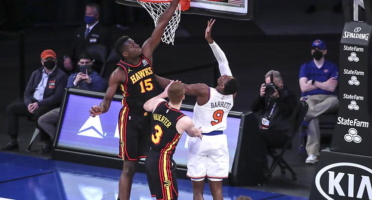 Les Hawks chutent à New York