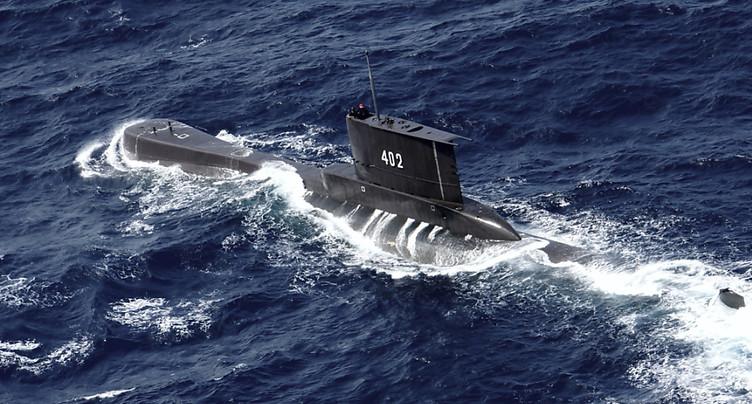 Recherches lancées pour retrouver un sous-marin indonésien disparu