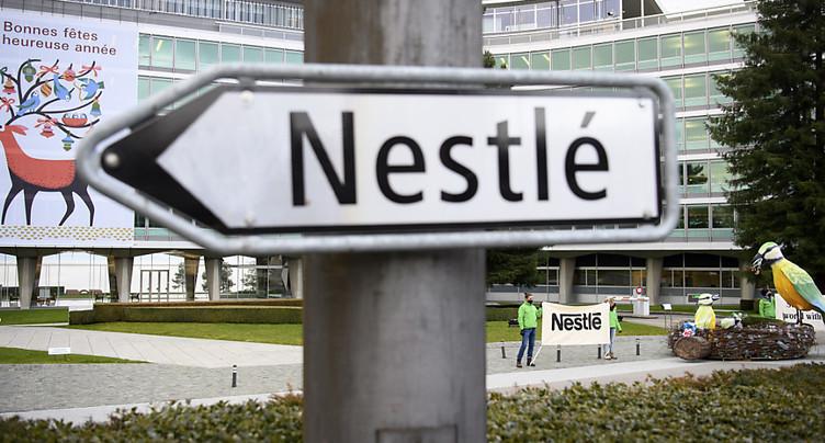 Porté par un solide premier trimestre, Nestlé confiant en l'avenir