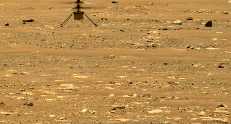L'hélicoptère Ingenuity vole une deuxième fois sur Mars