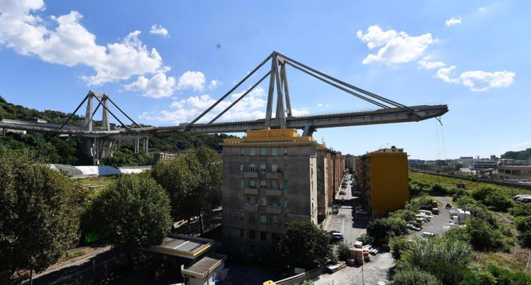 Pont de Gênes: enquête accablante pour le concessionnaire