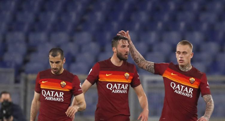 La Roma sauve un point contre une Atalanta à dix